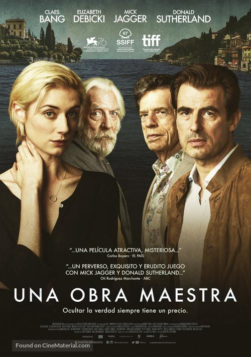 The Burnt Orange Heresy - Spanish Movie Poster