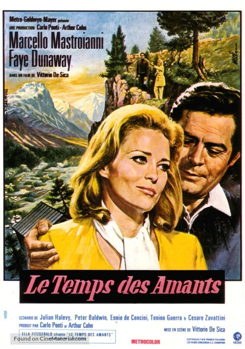 Amanti - French Movie Poster