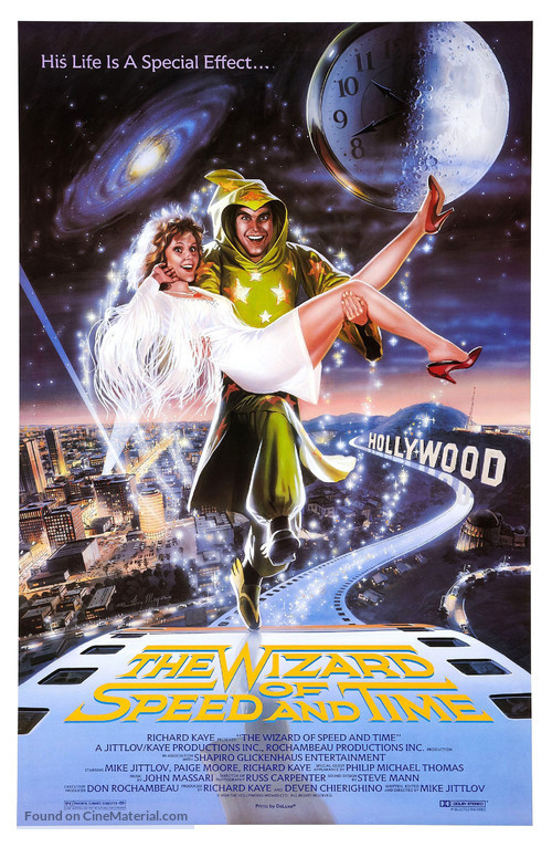 The Wizard of Speed and Time - Movie Poster