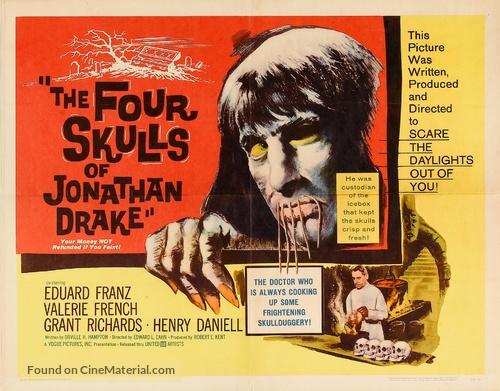 The Four Skulls of Jonathan Drake - Movie Poster