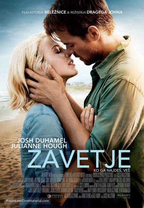 Safe Haven - Slovenian Movie Poster