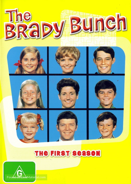 """The Brady Bunch"" - Australian DVD cover"