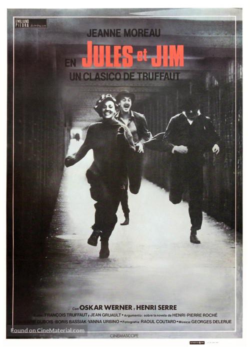 Jules Et Jim - Spanish Movie Poster