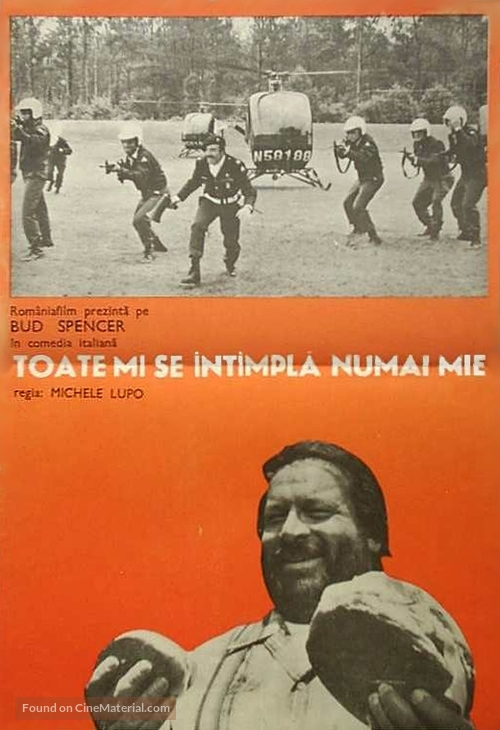 Chissà perché... capitano tutte a me - Romanian Movie Poster