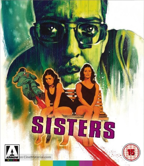 Sisters - British Blu-Ray cover