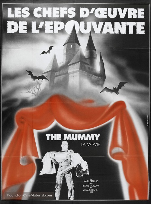 The Mummy - French Movie Poster