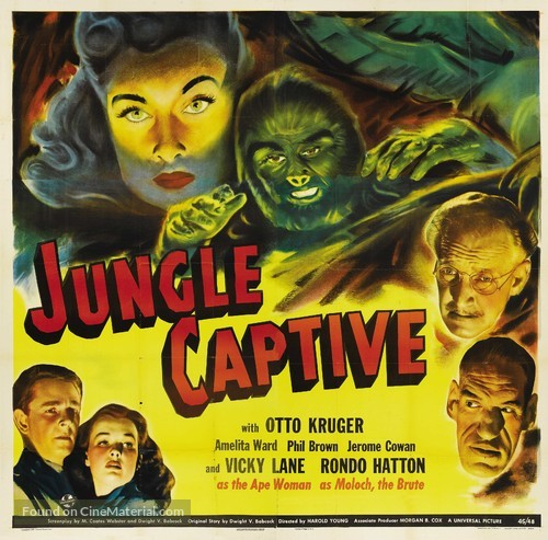 The Jungle Captive - Movie Poster