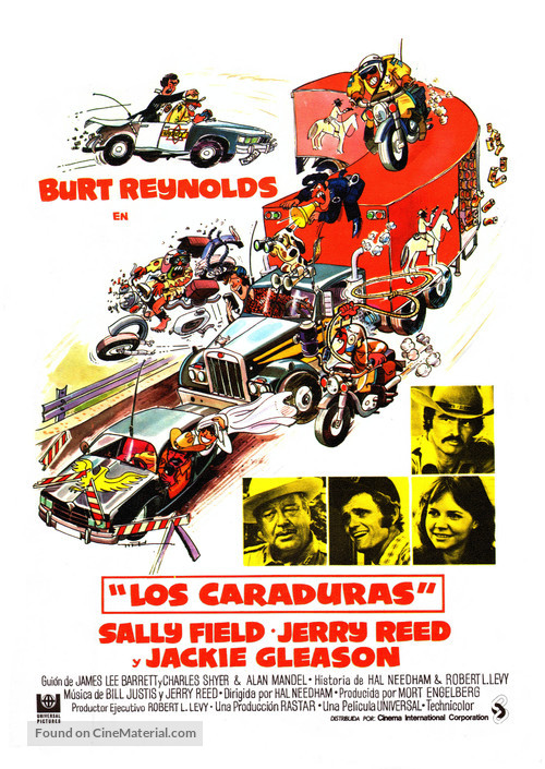 Smokey and the Bandit - Spanish Movie Poster