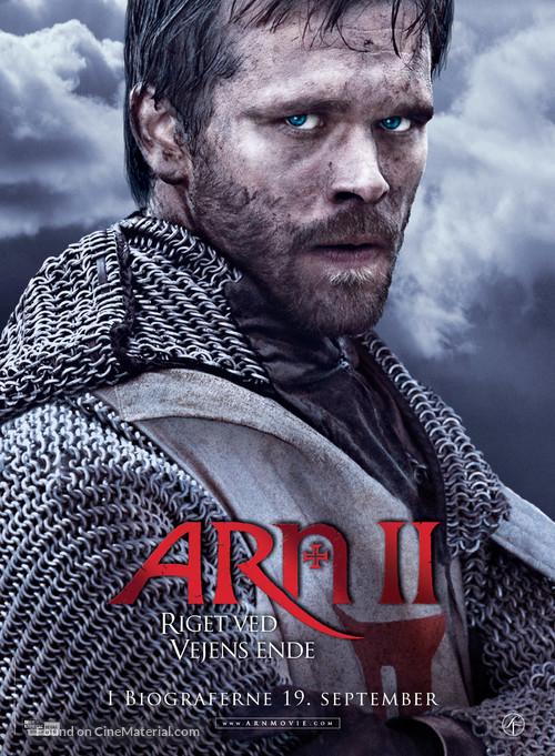 Arn - Riket vid vägens slut - Danish Movie Poster