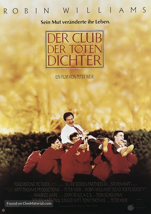Dead Poets Society - German Movie Poster