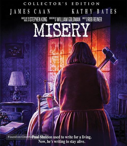 Misery - Blu-Ray movie cover
