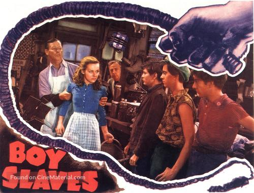 Boy Slaves - poster
