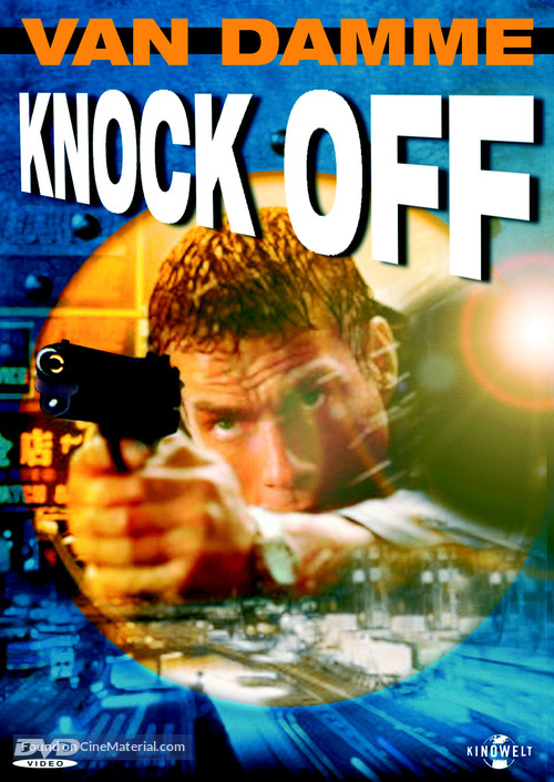Knock Off - German DVD movie cover