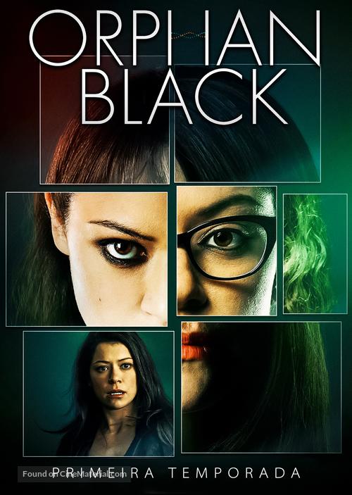 """Orphan Black"" - Brazilian poster"