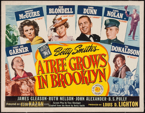 A Tree Grows in Brooklyn - Movie Poster
