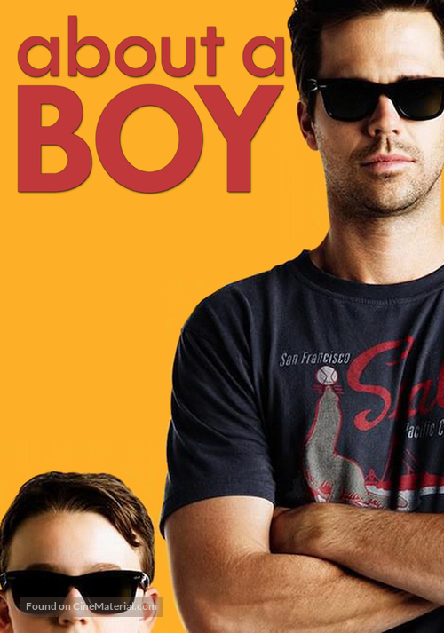 """""""About a Boy"""" - Movie Cover"""