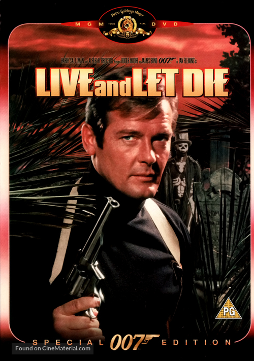 Live And Let Die - British Movie Cover