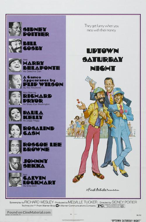 Uptown Saturday Night - Theatrical movie poster