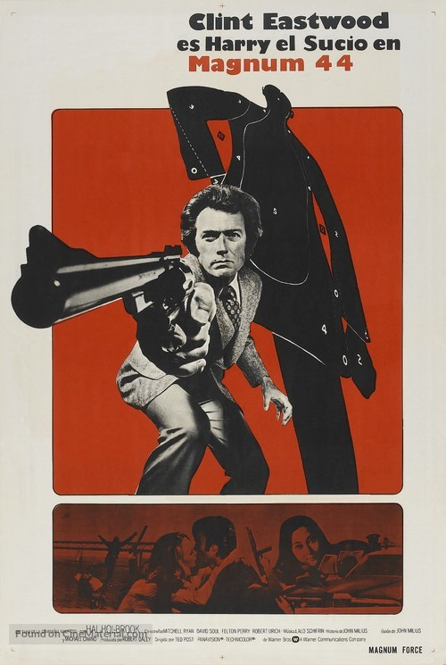 Magnum Force - Argentinian Movie Poster