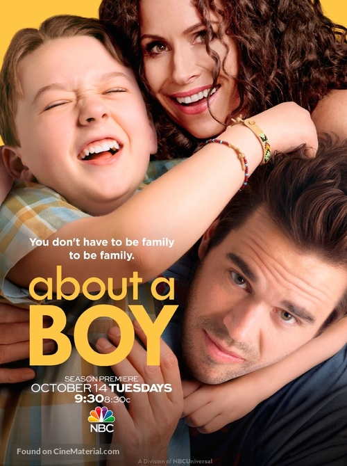 """About a Boy"" - Movie Poster"
