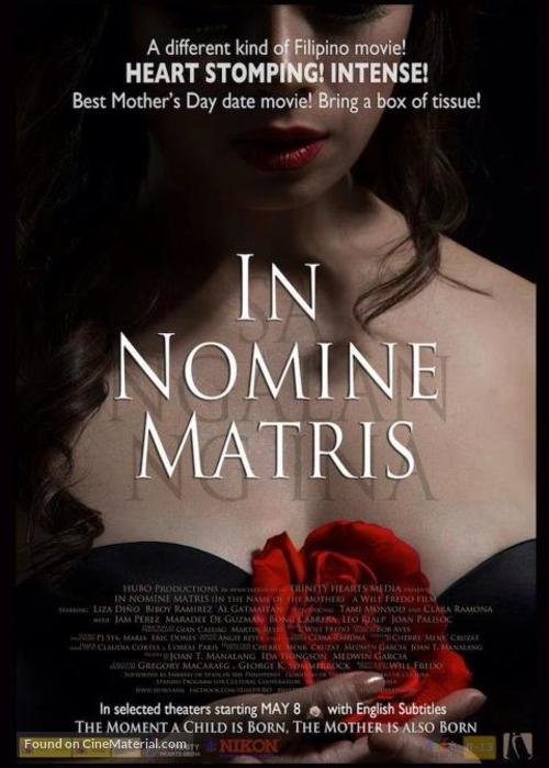 In nomine matris - Philippine Movie Poster