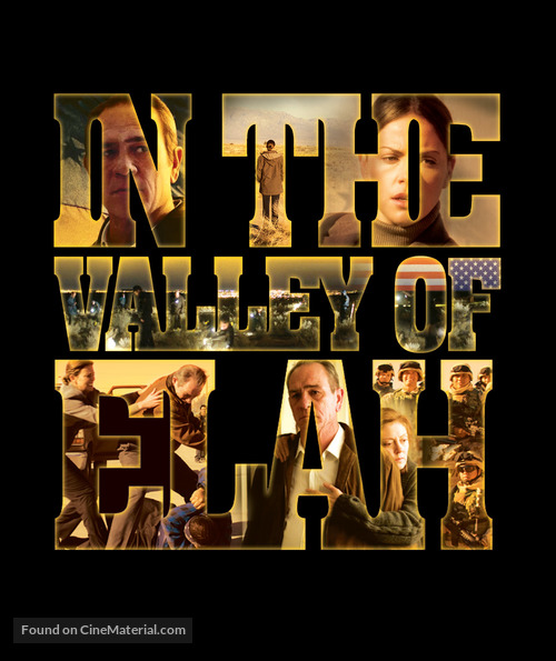 In the Valley of Elah - Blu-Ray movie cover
