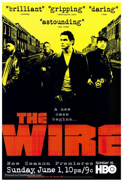 """""""The Wire"""" - Movie Poster"""