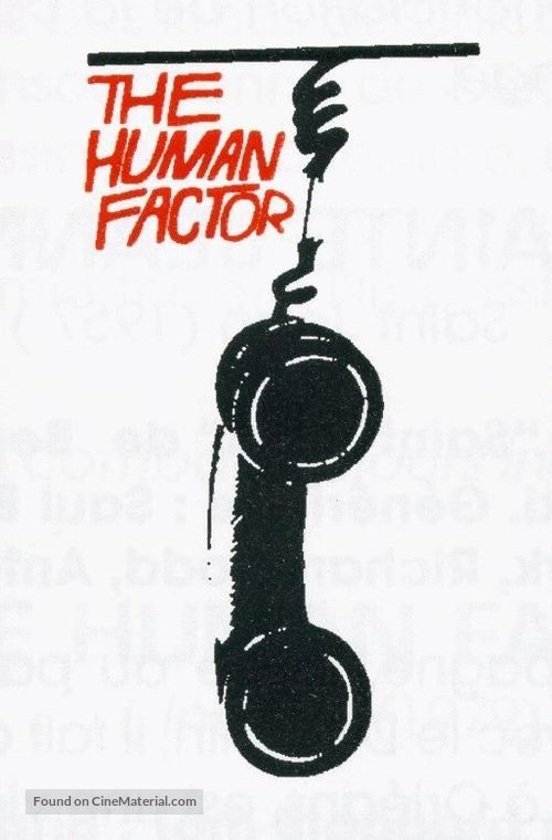 The Human Factor - British poster