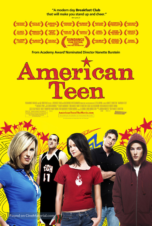 American Teen - Movie Poster