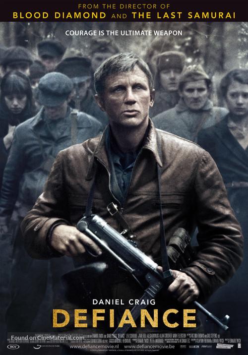 Defiance - Dutch Movie Poster