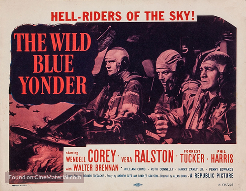 The Wild Blue Yonder - Movie Poster