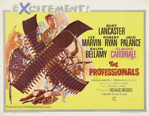 The Professionals - Movie Poster