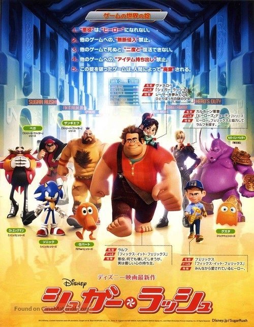 Wreck-It Ralph - Japanese Movie Poster