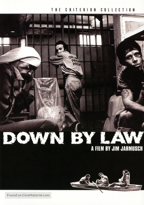 Down by Law - DVD movie cover