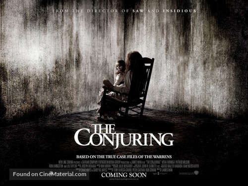 The Conjuring - British Movie Poster