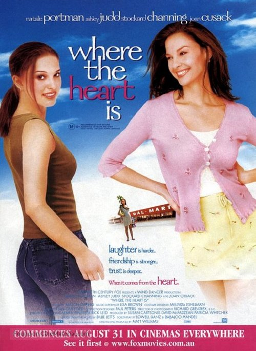 Where the Heart Is - Australian Movie Poster