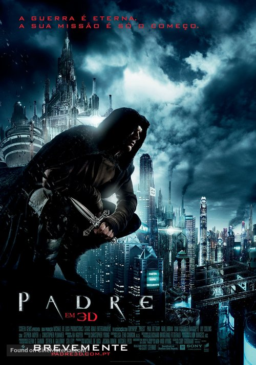 Priest - Portuguese Movie Poster