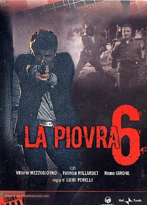 """""""La piovra 6 - L' ultimo segreto"""" - Italian DVD movie cover"""