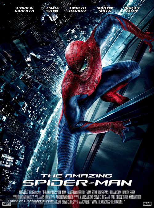 The Amazing Spider-Man - Movie Poster