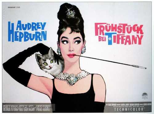 Breakfast at Tiffany's - German Movie Poster
