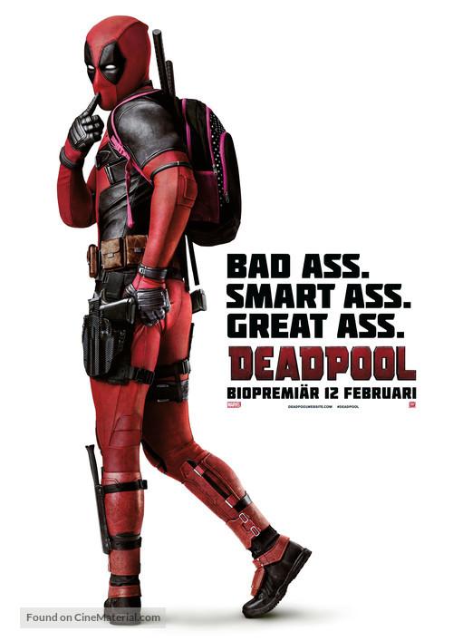 Deadpool - Swedish Movie Poster