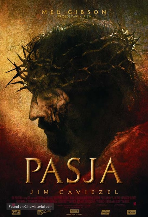 The Passion of the Christ - Polish Movie Poster