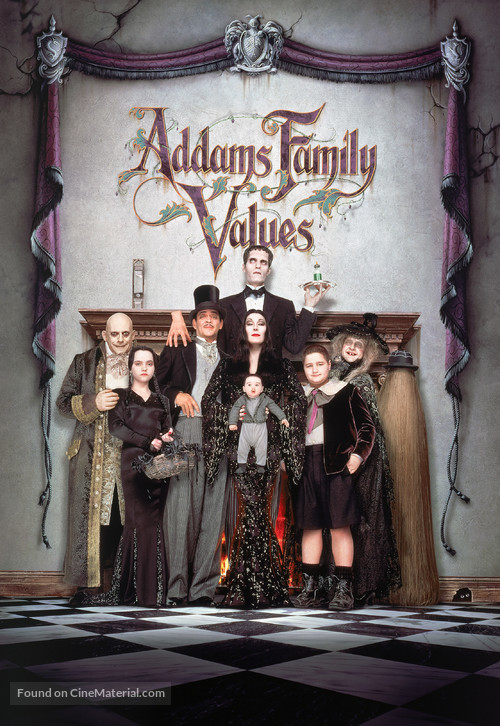 Addams Family Values - DVD movie cover