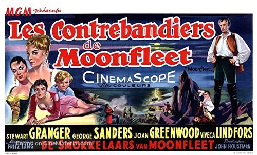 Moonfleet - Belgian Movie Poster