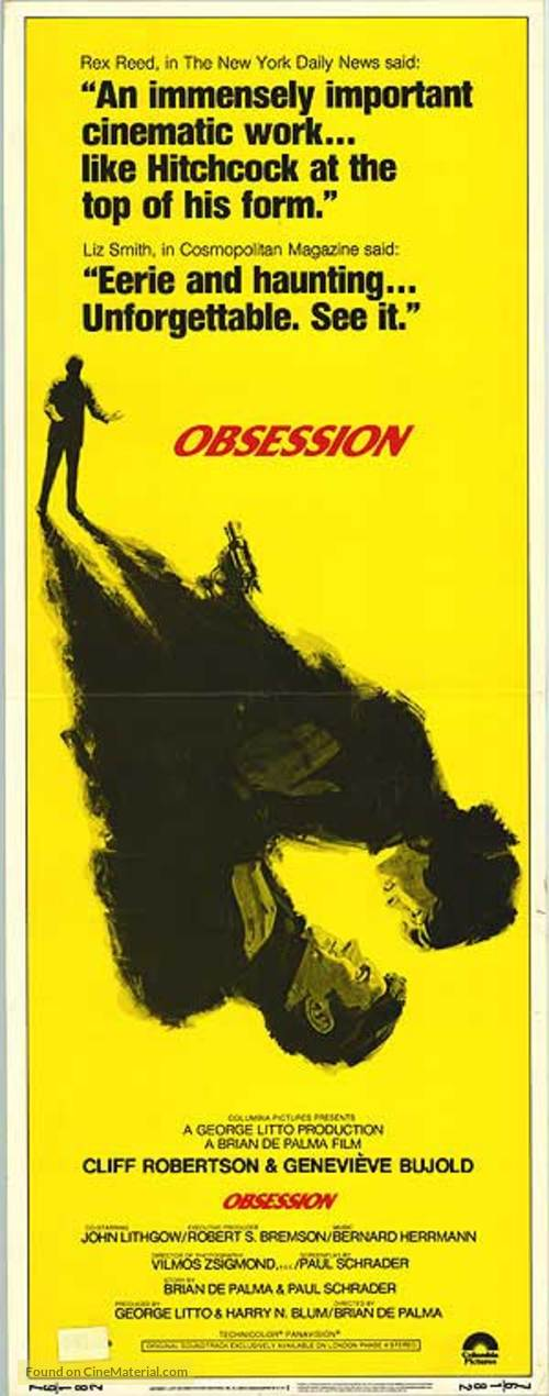 Obsession - Movie Poster