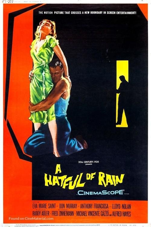 A Hatful of Rain - Movie Poster