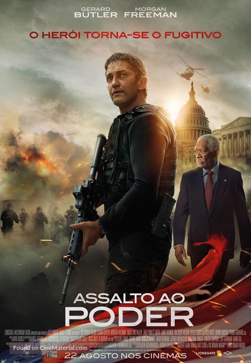 Angel Has Fallen - Portuguese Movie Poster