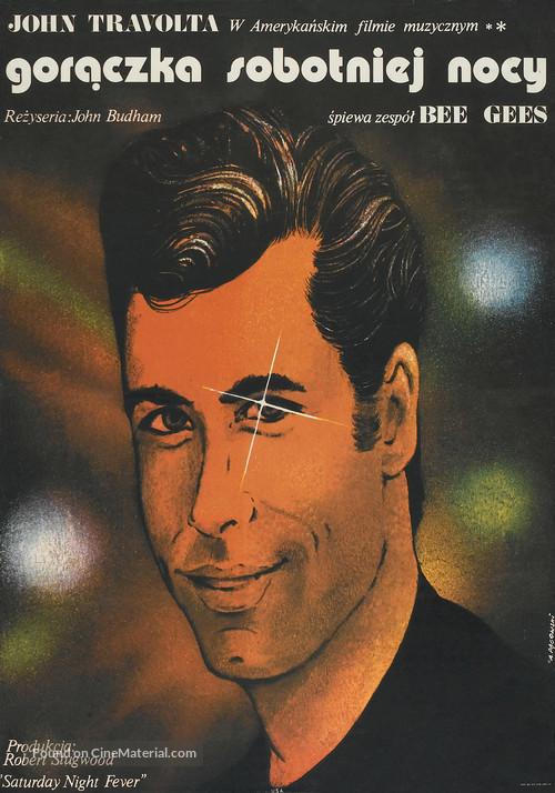 Saturday Night Fever - Polish Movie Poster