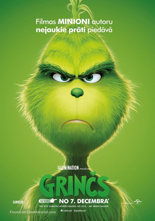 The Grinch - Latvian Movie Poster