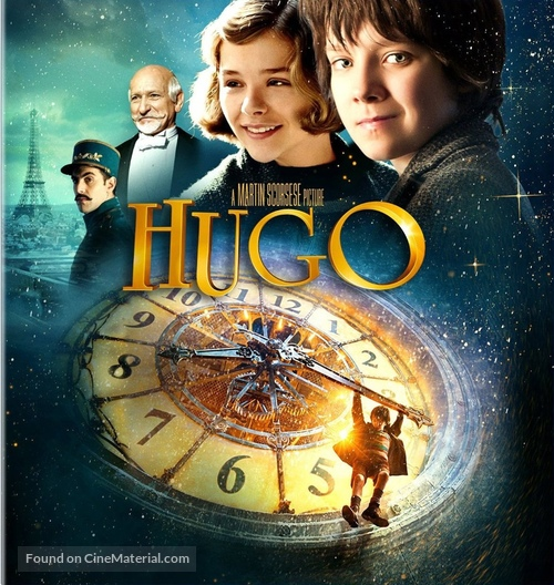 Hugo - Blu-Ray movie cover